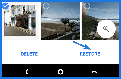 Recover Google Photos