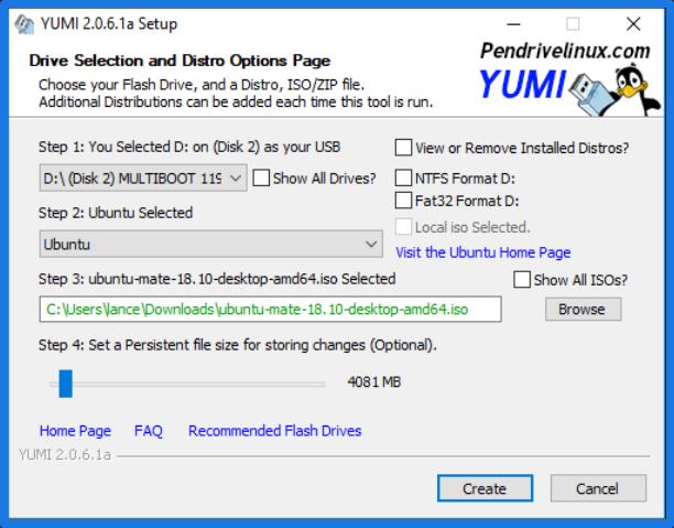 YUMI-Multiboot USB Creator