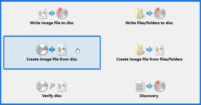 Create Image File from Dvd