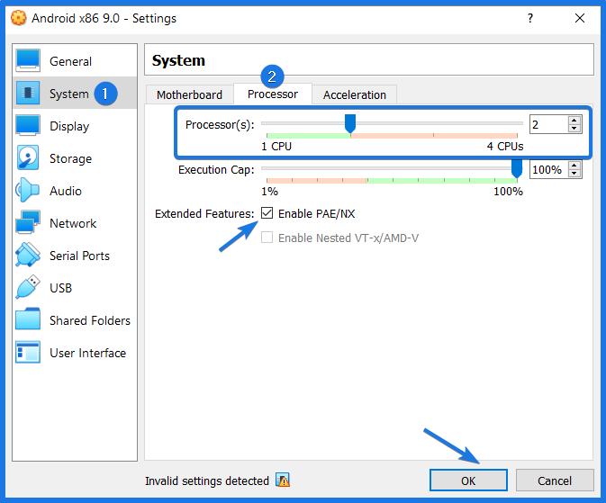 Virtualbox System