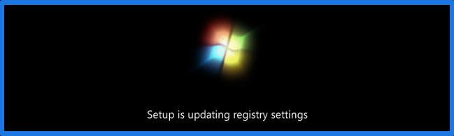 Win7 Updating registry settings