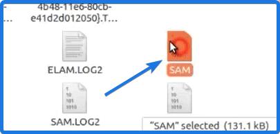 SAM Registry Hive File