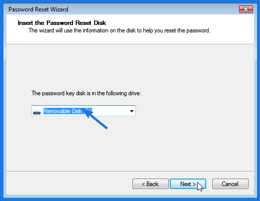 Password Key Disk