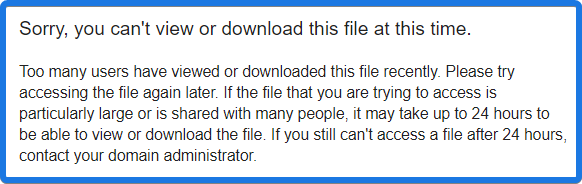 Can't View or Download this File