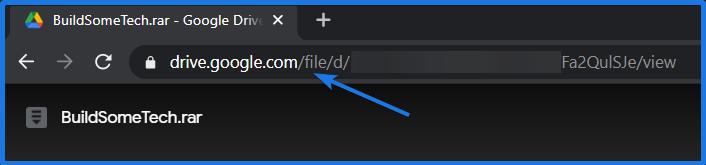 Open Google Drive File in incognito mode