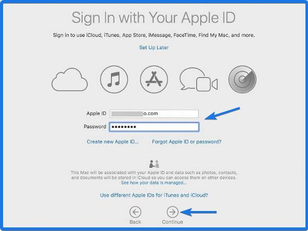 Sign in with Your Apple ID