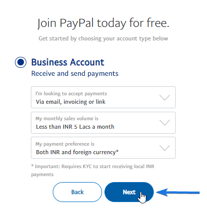 Paypal Business Account Payment Preferences