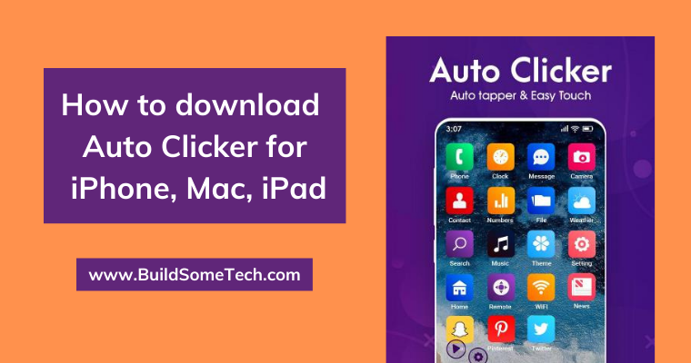 How to download Auto Clicker for iPhone, Mac, iPad