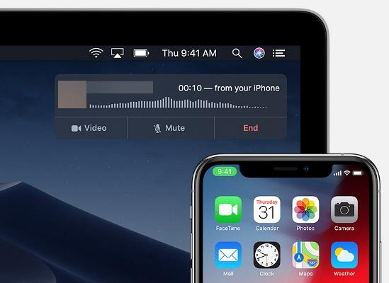 Receive Calls On Your Mac from iPhone