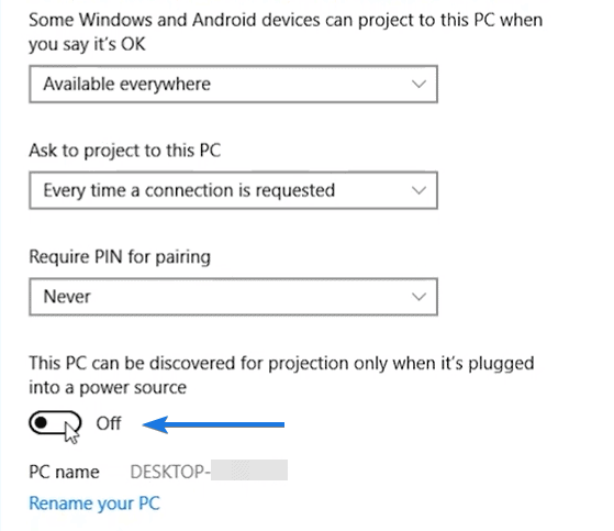 Settings to Use Laptop as a Monitor