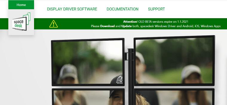 SpaceDesk Official Website