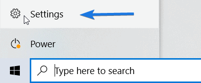 Windows 10 Settings Icon