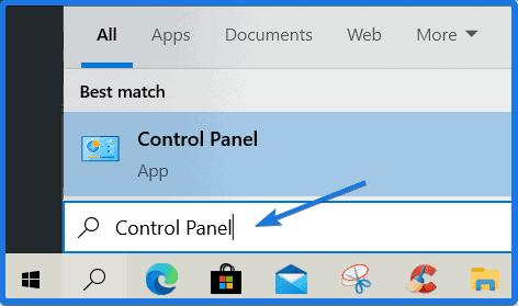 Delete Gyazo App using Control Panel