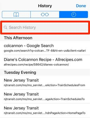 Strange Browsing History on Your Phone