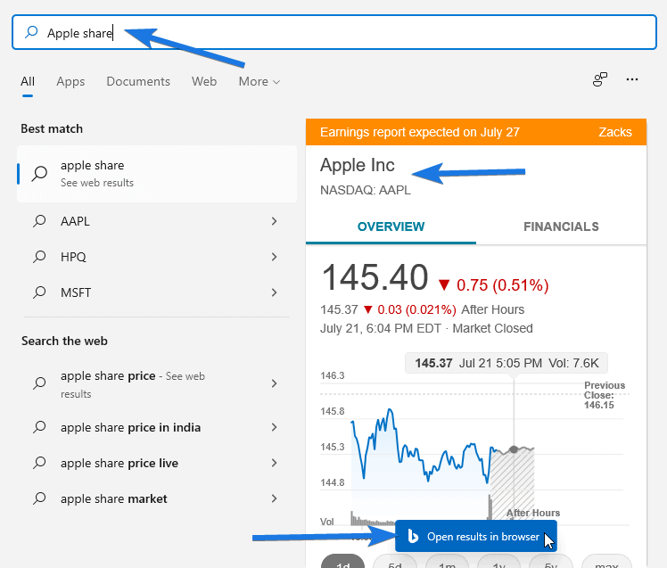 Can Check Price of any Stock