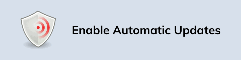 Enable Automatic Updates