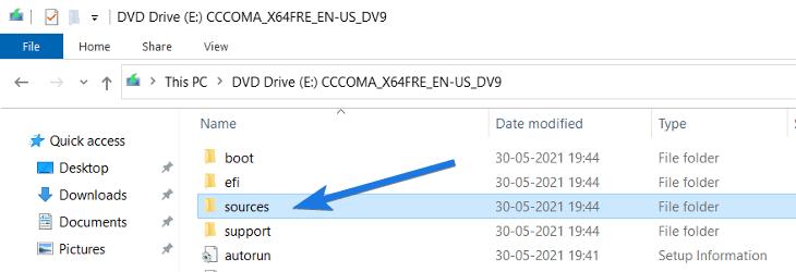 Sources Folder