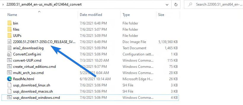 Using Windows 11 ISO Image File