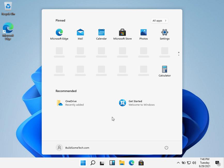 Windows 11 running on your PC