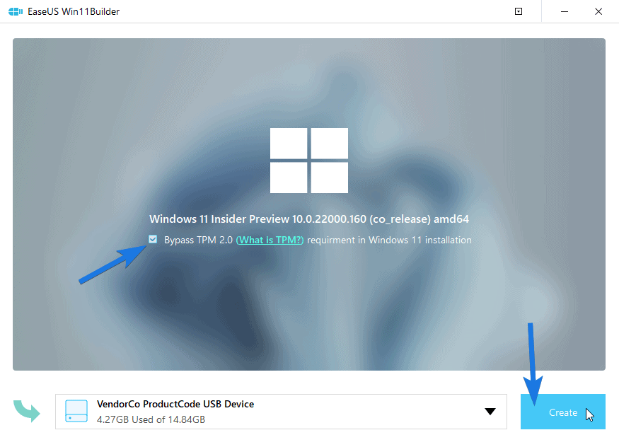 Bypass TPM 2.0 requirement in Windows 11 installation