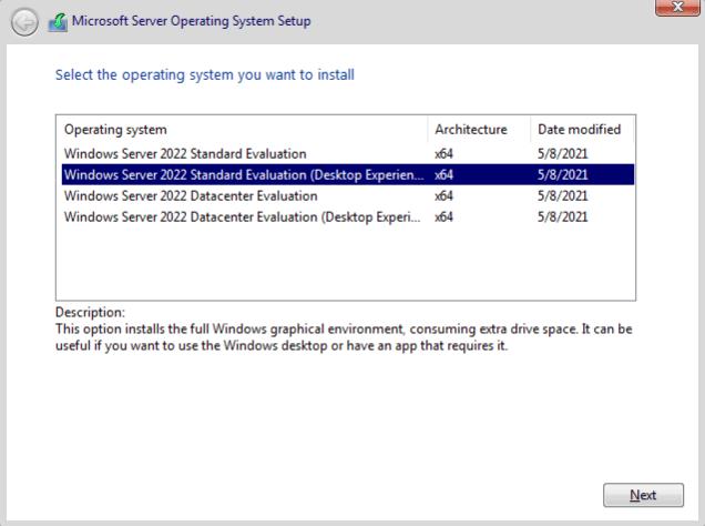 How to Install Windows Server 2022