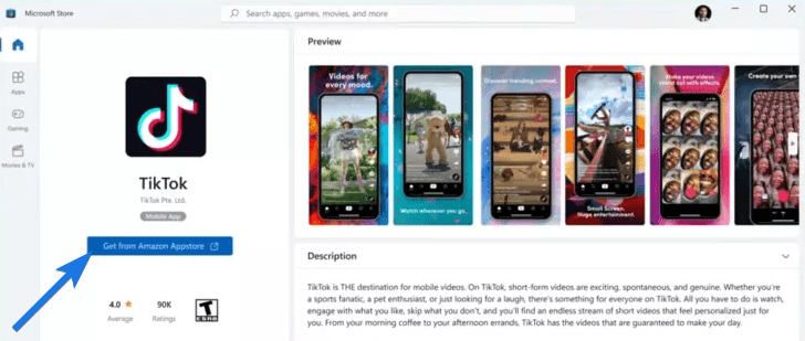 Search for Android apps in Store