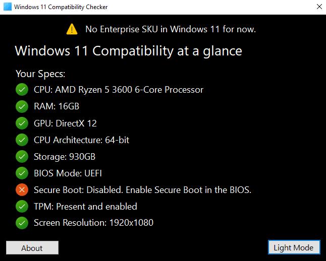 Windows.11.Compatibility.Checker