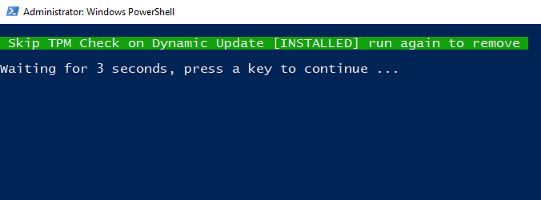 Skip YPM Check on Dynamic Update [installed]
